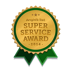 Angies List 2014 Super Service Award - Buckeye Plumbing