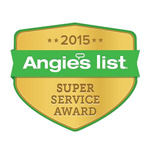 Angies List 2015 Super Service Award - Buckeye Plumbing
