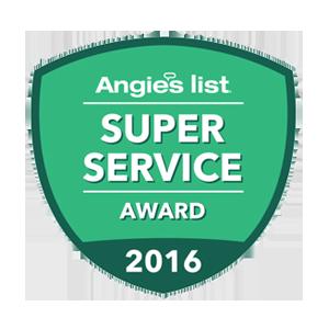 Angies List 2016 Super Service Award - Buckeye Plumbing