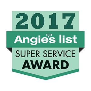 Angies List 2017 Super Service Award - Buckeye Plumbing
