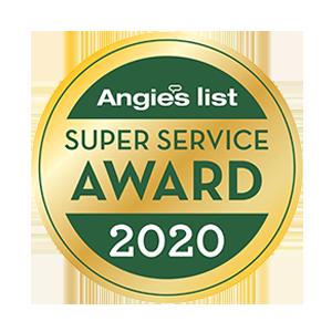Angies List 2020 Super Service Award - Buckeye Plumbing