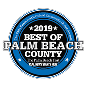 Best Plumbing Company Palm Beach County 2019 Badge