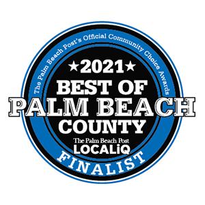 Best Plumbing Company Palm Beach County 2021 Badge